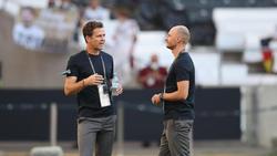 Oliver Bierhoff und Benedikt Höwedes arbeiten für den DFB