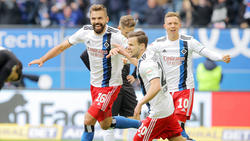 Lukas Hinterseer erzielte gegen den Karlsruher SC einen Doppelpack