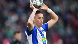 Kämpft daheim in der Quarantäne auch gegen die Eintönigkeit:Marius Wolf von Hertha BSC