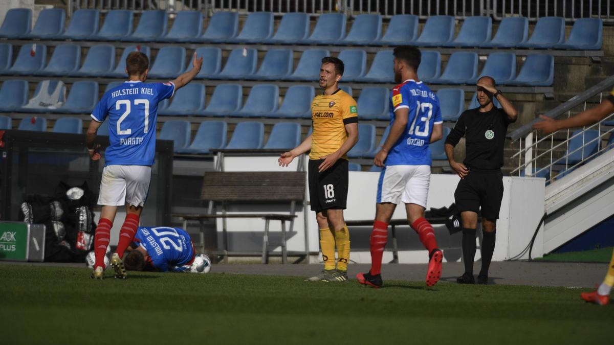 Dynamo Dresden vor dem Abstieg aus der 2. Bundesliga