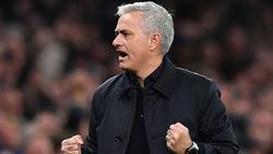 Mourinho durfte zwei späte Tore bejubeln