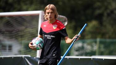 Borna Sosa steht dem VfB nicht zur Verfügung