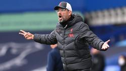 Jürgen Klopp und der FC Liverpool verpassten den Derbysieg
