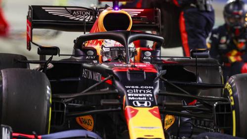 Max Verstappen wird in Bahrain Zweiter