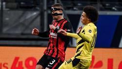 Spielte gegen den BVB mit Maske: Stefan Ilsanker von Eintracht Frankfurt