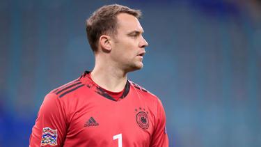 """Manuel Neuer vom FC Bayern ist """"Nationalspieler des Jahres"""""""