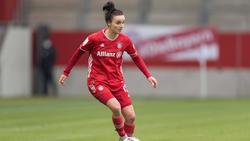 Lina Magull hat mit dem FC Bayern noch einiges vor
