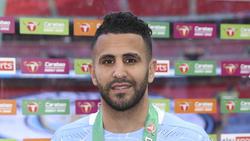 Riyad Mahrez ahora disfruta del fútbol en Manchester.