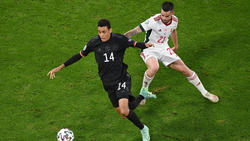 Jamal Musiala vom FC Bayern feierte gegen Ungarn sein EM-Debüt