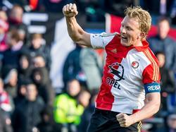 Dirk Kuyt se coronó campeón de Copa en Holanda. (Foto: ProShots)