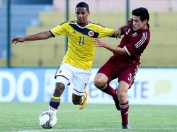 Jeison Lucumí war gegen Venezuela Kolumbiens Matchwinner
