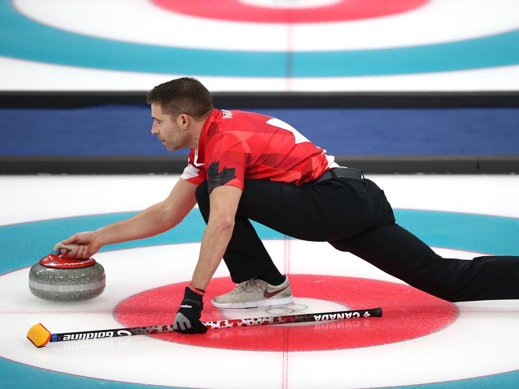 John Morris gewann Premieren-Gold im Mixed-Curling