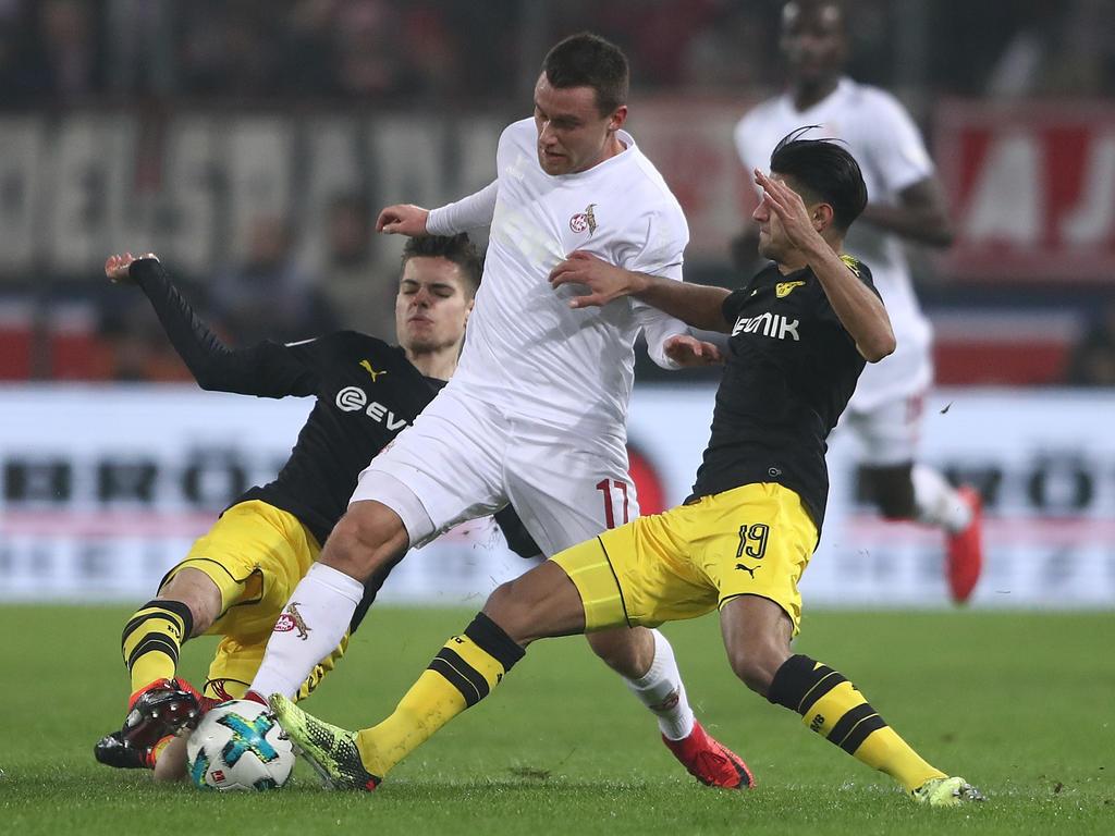 Julian Weigl und Mohamed Dahoud beackern das BVB-Mittelfeld