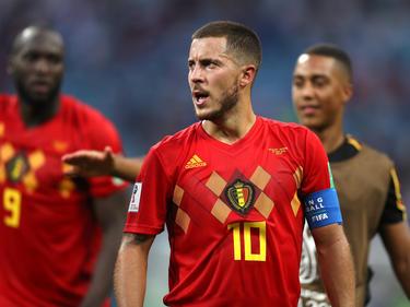 Hazard es el capitán y la estrella de esta gran generación de jugadores belgas. (Foto: Getty)