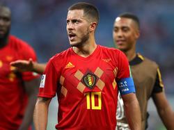 Eden Hazard ist Wort- und Anführer der Belgier
