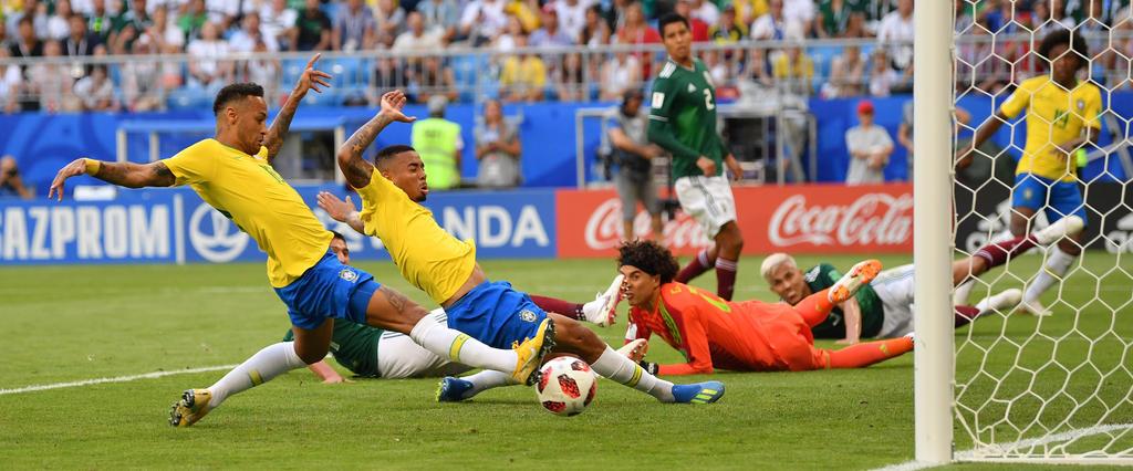 Neymar belohnt die Selecao