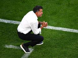 Juan Carlos Osorio erlebte mit seinem Team eine Lehrstunde gegen Schweden