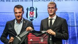 Klubpräsident Orman (l.) will Loris Karius fest verpflichten