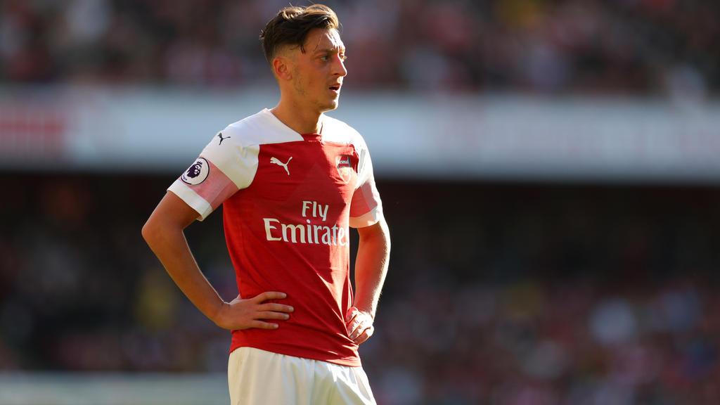Mesut Özil ist beim FC Arsenal nicht mehr gesetzt