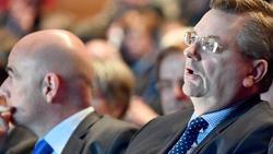 Reinhard Grindel spricht von positiven Signalen von Infantino