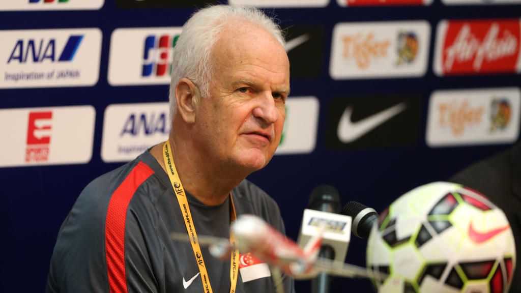Bernd Stange wurde während des Asien-Cups entlassen