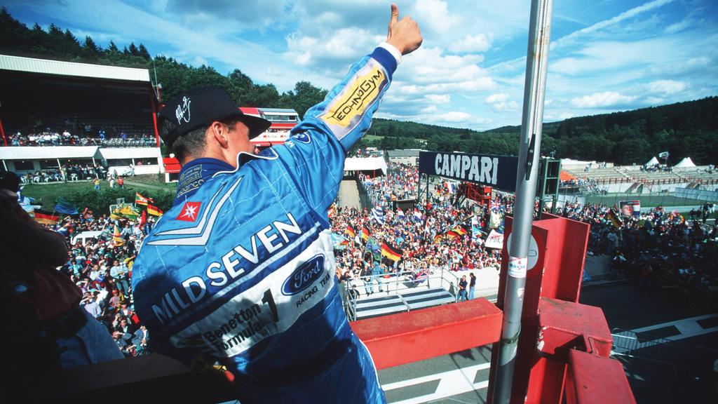 Michael Schumacher gewann in der Saison 1994 seinen ersten WM-Titel