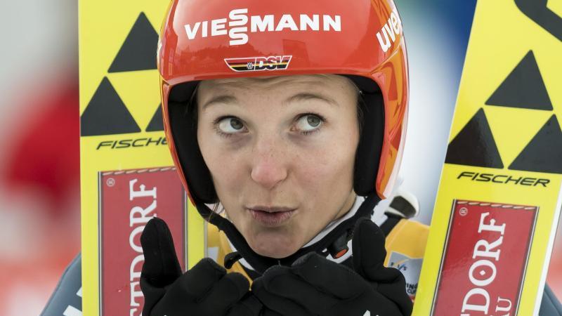 Katharina Althaus freut sich auf das Teamspringen bei der WM