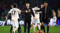 Während Manchester United jubelte, trug Paris Saint-Germain Trauer