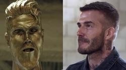 David Beckham wurde im Fernsehen böse reingelegt (Copyright: CBS)