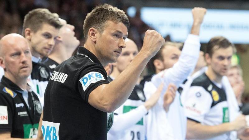 Die deutschen Handballer um Christian Prokop sind bei der Bundeskanzlerin eingeladen