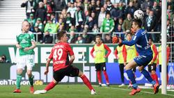 Davy Klaassen erzielte für Bremen das 1:0
