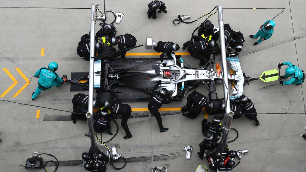 Mercedes Risiko-Taktik ging auf: Hamilton und Bottas fuhren zum Doppelsieg