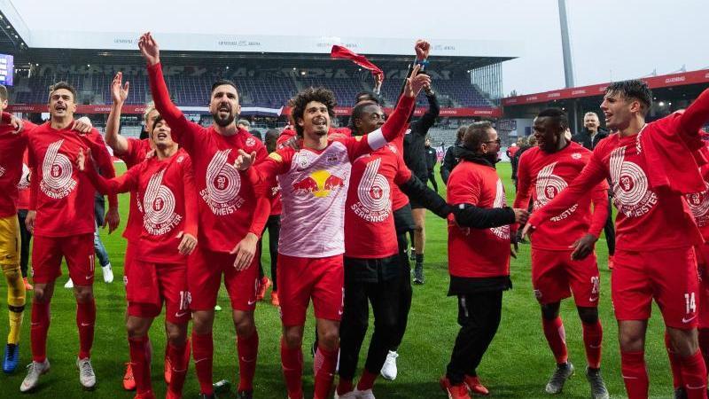 Red Bull Salzburg nimmt nächstes Jahr zum ersten Mal an der Champions League teil