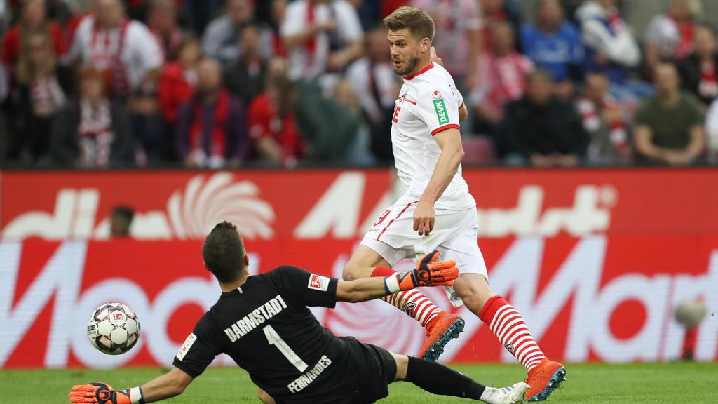 Simon Terodde hat den 1. FC Köln zum Aufstieg geschossen