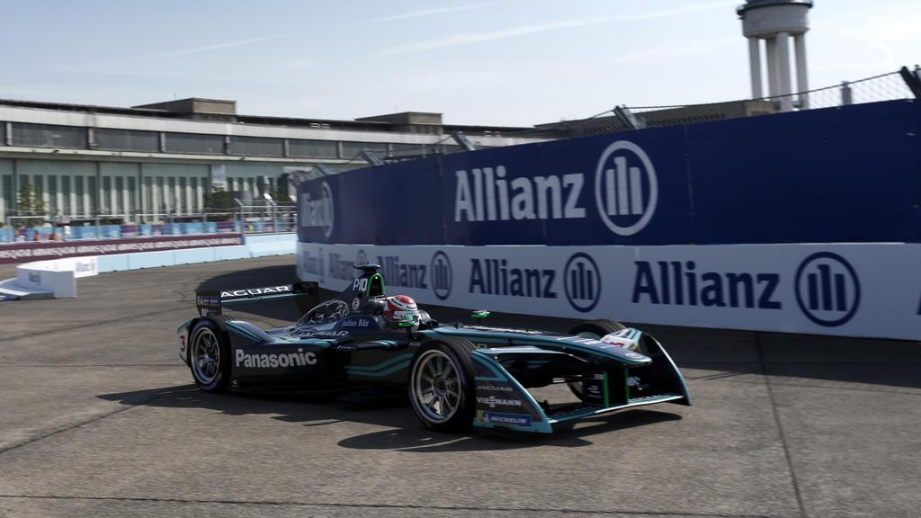 Die Formel E ist wieder auf dem ehemaligen Flughafen Tempelhof in Berlin zu Gast