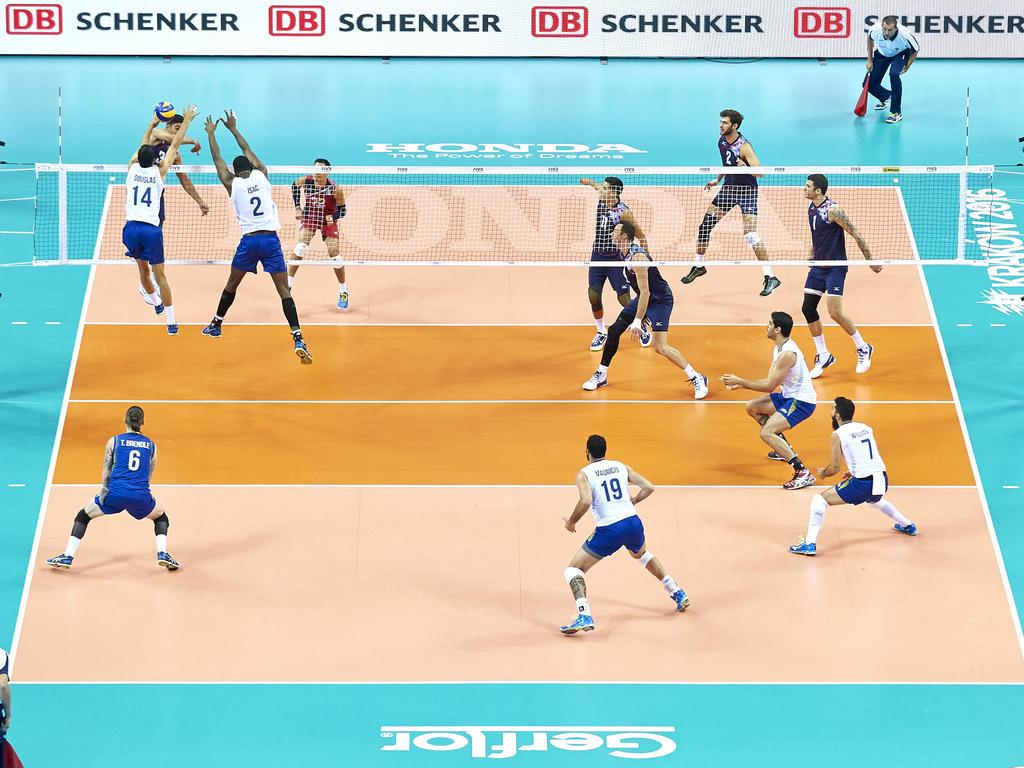 Die Volleyball World League macht auch 2017 in Deutschland Halt