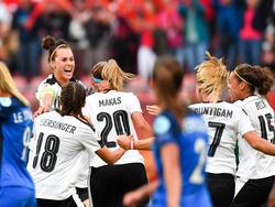 Österreich Frankreich Frauen EM