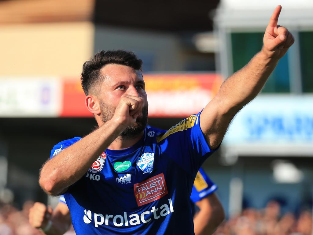 Dario Tadić gelang vom Elferpunkt das Goldtor