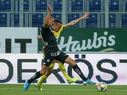Sturm Graz und St. Pölten liefern sich ein intensives Spiel