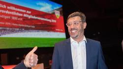 Neuer Präsident des VfBStuttgart: Claus Vogt