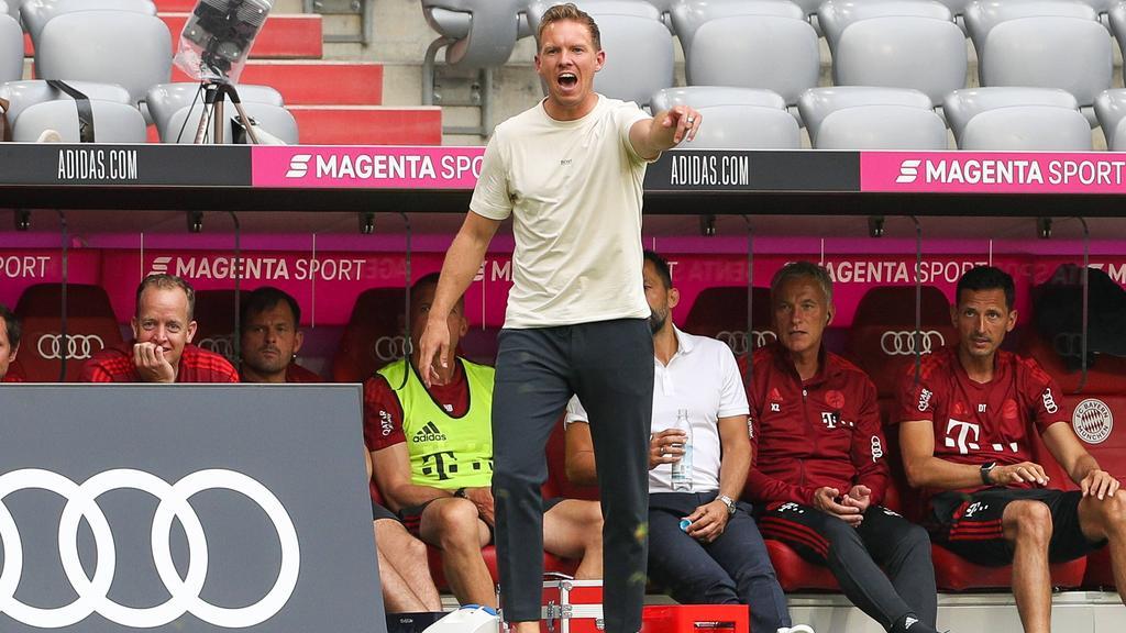 Julian Nagelsmann lässt sich von pöbelnden Fans des FC Bayern nicht verunsichern