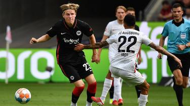 Eintracht Frankfurt musste sich mit einem Unentschieden zufrieden geben
