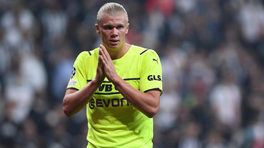 Erling Haaland vom BVB weckt Begehrlichkeiten bei den Top-Klubs