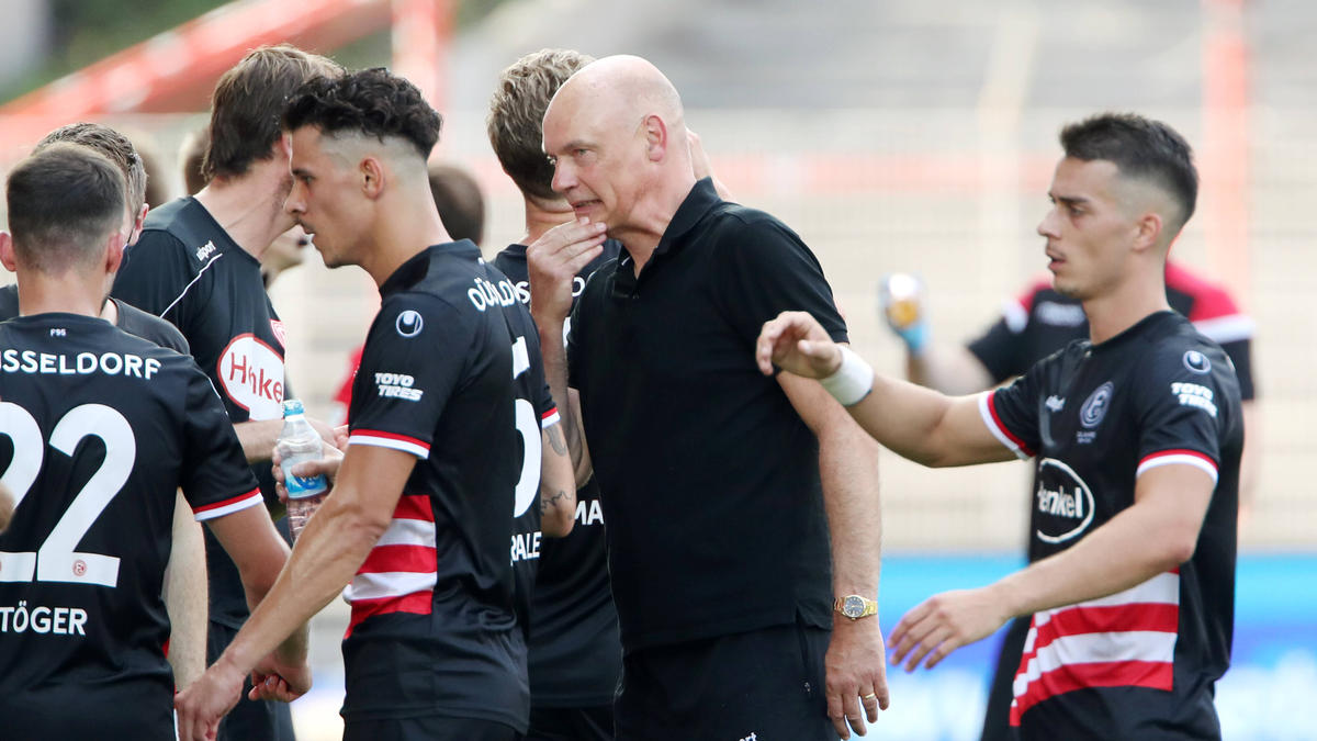 Uwe Rösler will mit Fortuna Düsseldorf in die Bundesliga zurückkehren