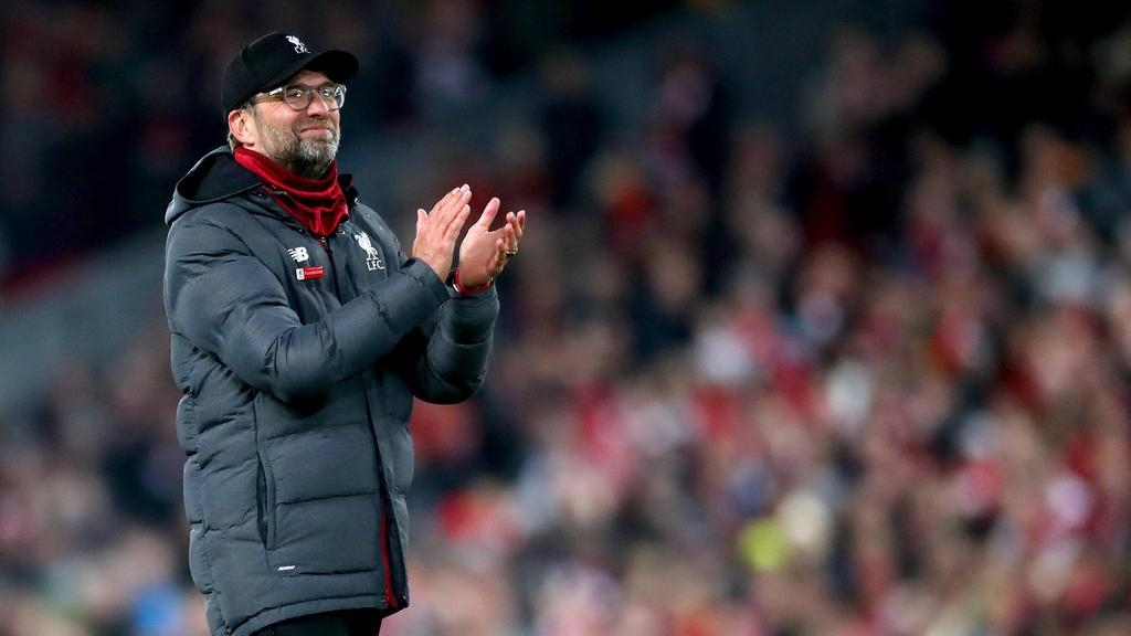Jürgen Klopp traut dem FC Bayern den Triumph in der Champions League zu