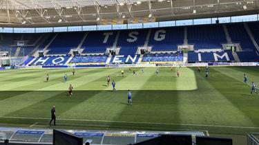 Beim Europa-League-Spiel der TSG 1899 Hoffenheim gegen Roter Stern Belgrad sind keine Zuschauer zugelassen