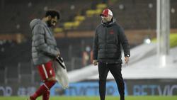 Mohamed Salah (l.) ist beim FC Liverpool angeblich unzufrieden