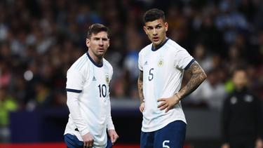 Leandro Paredes würde gerne mit Lionel Messi bei PSG spielen