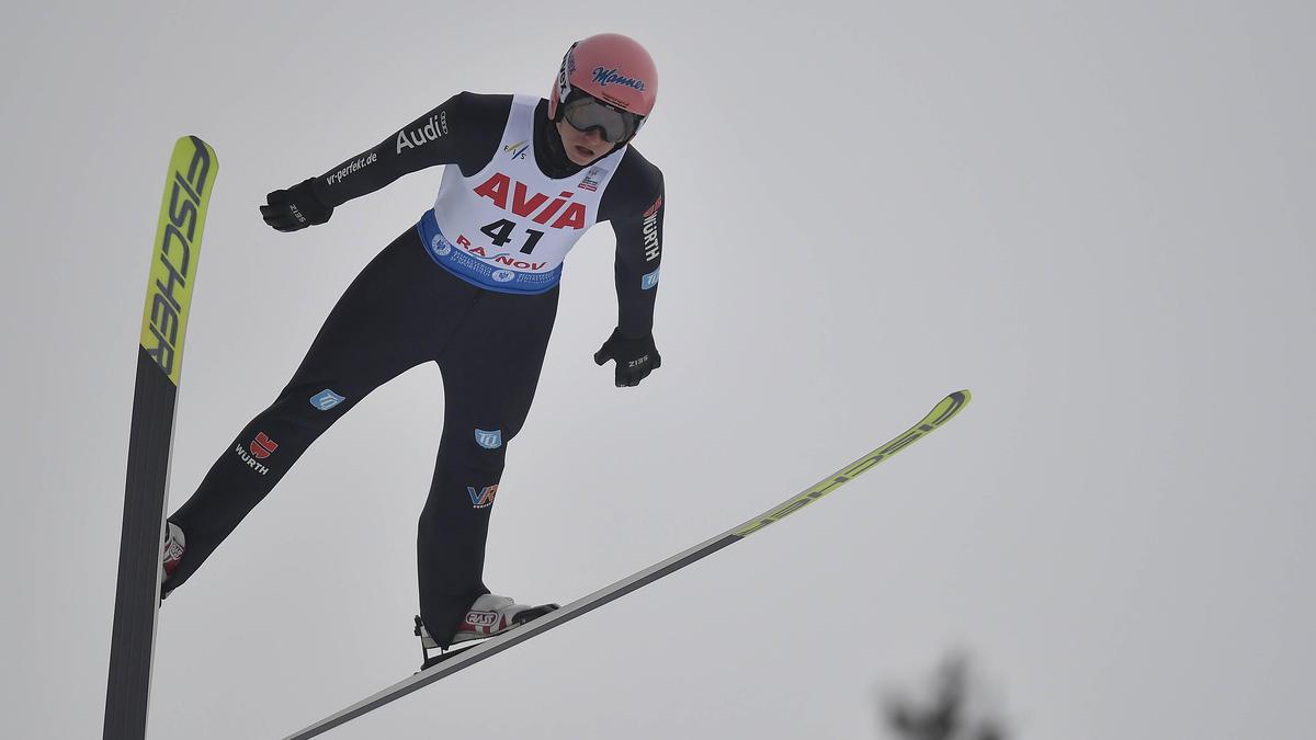 Karl Geiger landete auf dem dritten Platz