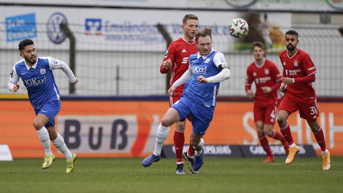 Meppen setzte sich gegen den FC Bayern durch
